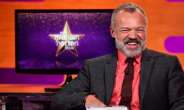 Schmooze fest: Channel 4's Graham Norton has both charisma and A-list guests on his sofa.