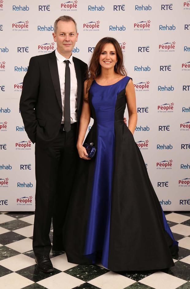 High powered: Peter Devlin and Lorraine Keane
