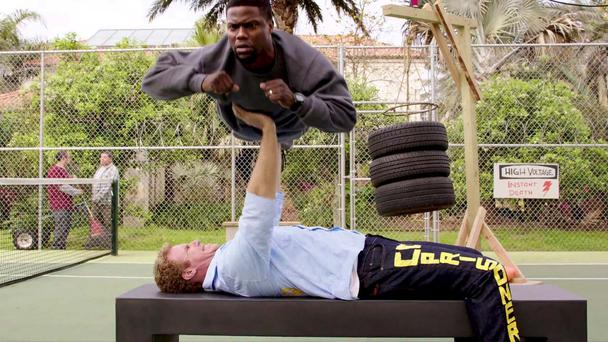 Hard labour: Will Ferrell and Kevin Hart work out in 2015's 'Get Hard'