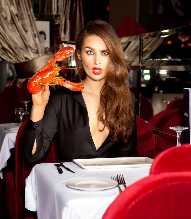 Roz Purcell for Life Magazine. She wears a Topshop jumpsuit. Picture: Evan Doherty