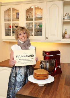 'Strong': Esther Tracey (58), who has Motor Neurone Disease, is backing the Irish Motor Neurone Disease Association's sponsored silence