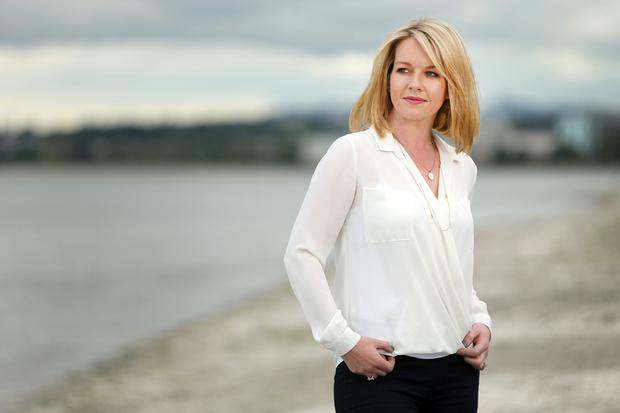Broadcaster Claire Byrne. Photo: Gerry Mooney.