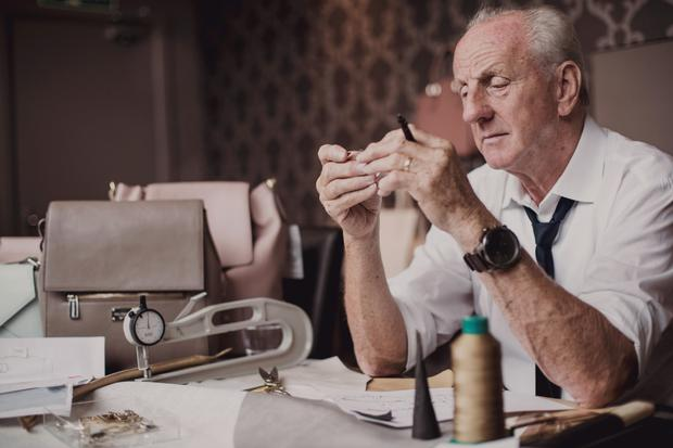 Designer Paul Costelloe splits his time between London and Dublin.