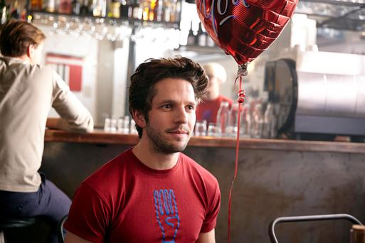 Chameleon: Damien Molony plays Anthony in Crashing.