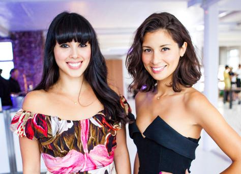 Healthy eating poster girls: Melissa and Jasmine Hemsley.