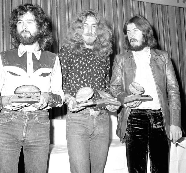 Rock gods: Led Zeppelin in their prime