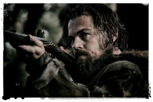 Leonardo DiCaprio gives his all in The Revenant.