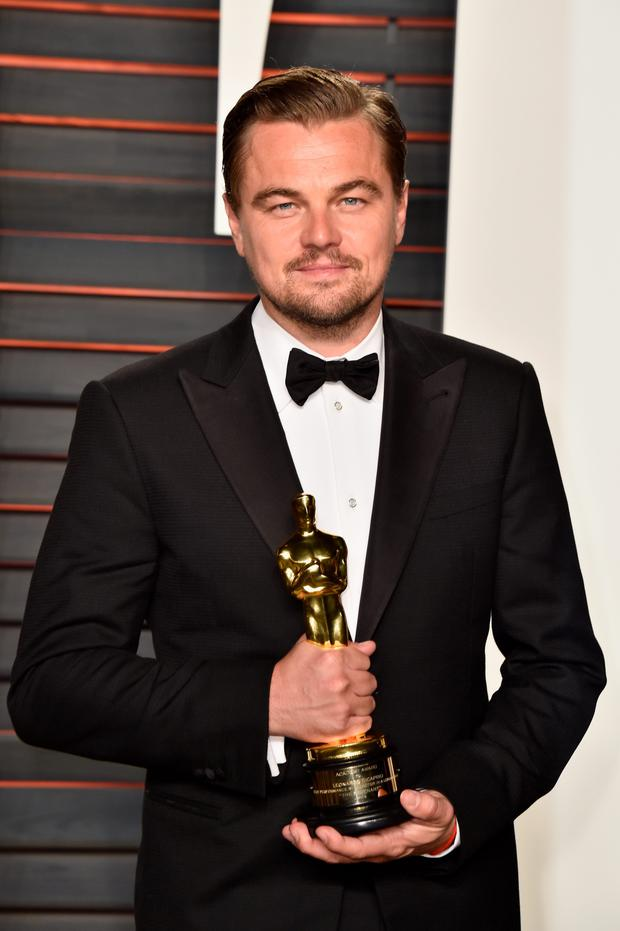 One of his era's finest script actors: Leonardo DiCaprio.
