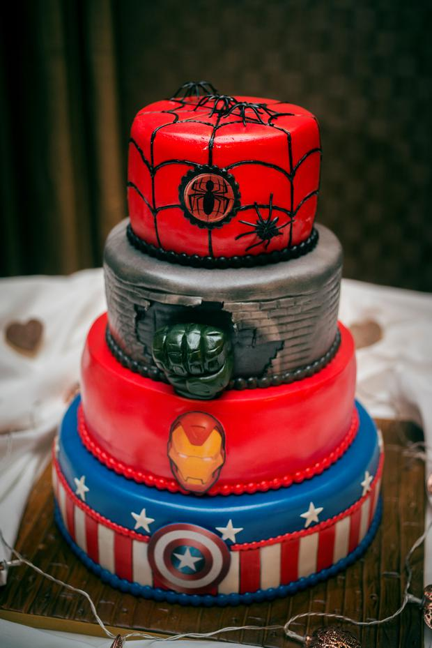 Grace & Karl's Wedding had a superhero twist. Photography by Ros and Anna from Couple Photography, www.couple.ie