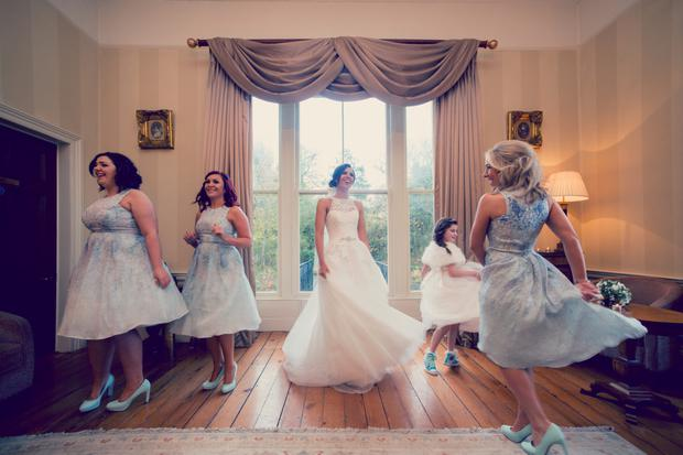 Grace & Karl's Wedding. Photography by Ros and Anna from Couple Photography, www.couple.ie