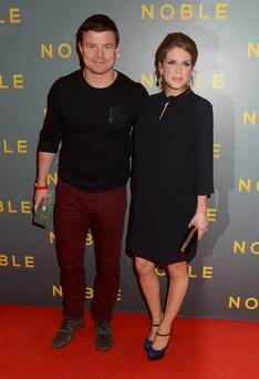 None of us make parenting look as stylish as Brian O'Driscoll and Amy Huberman.