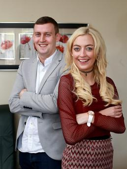 Brotherly love: Laura Gahan, from Dublin, has mixed emotions about next week's test results. She knows her brother Glen's kidney could save her life but she would prefer not to put him through the ordeal. Photo: Frank McGrath