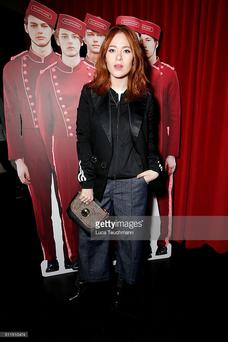Style combination: Angela Scanlon.