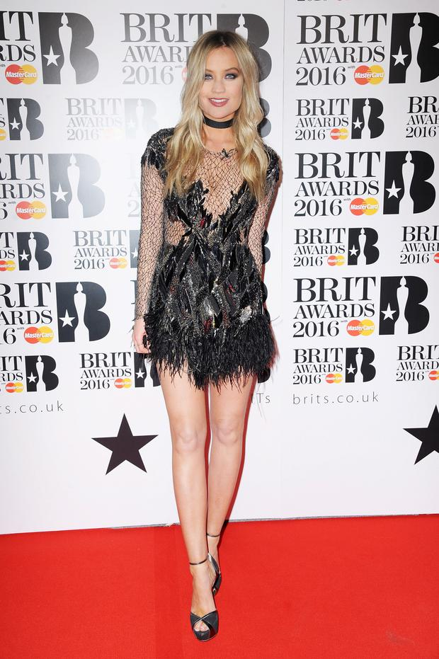 Brit Awards outing: Laura Whitmore.