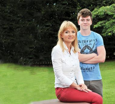 Recovery: 'I could never have asked Luke to give up, nor would I have wanted him to,' said Paula Lenihan after son Luke was concussed after a schools rugby game. Photo: Daragh Mc Sweeney/Provision