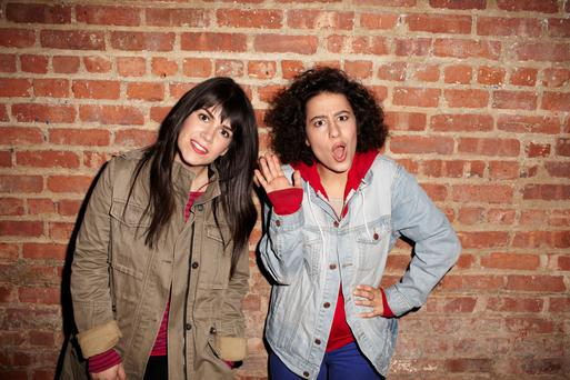 New role models: Unapologetic singles Abbi and Ilana of Comedy Central's Broad City.