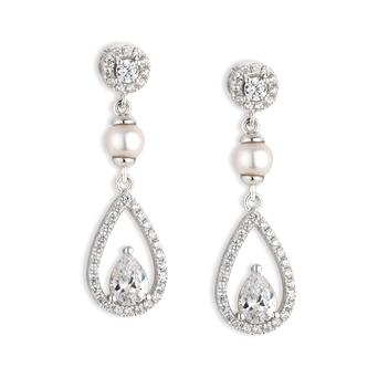 Earrings, €125, The Richmond Bridal Collection, Paul Costelloe, available from jewellers nationwide, for stockists, tel: (01) 602-0999.