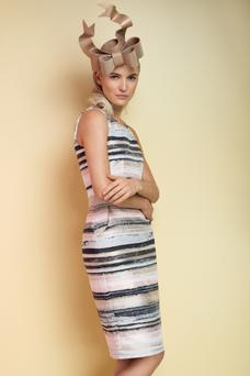 Dress, €285, for stockists see aideenbodkin.com