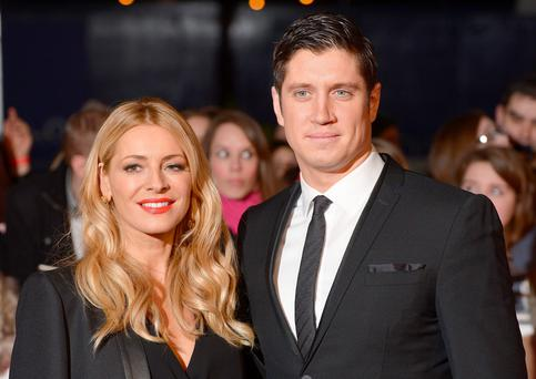 Another chance?: TV presenters Tess Daly and Vernon Kay have been married for 13 years and have two children together