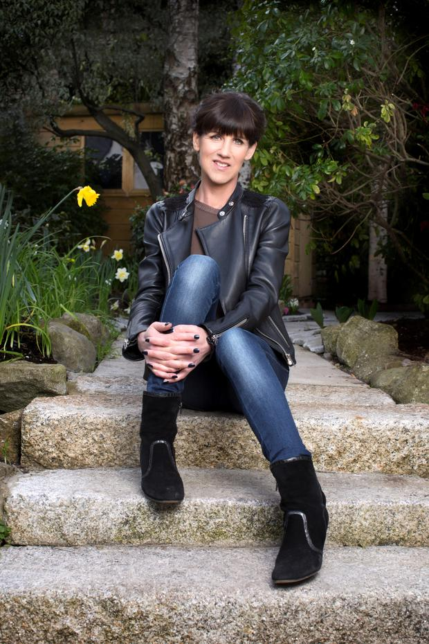Emily Hourican has just had her debut novel published. Photo: Dave Conachy.