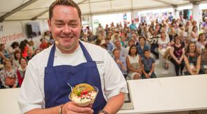 Neven Maguire at Taste of Dublin.