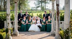 Trish and Arnout's wedding. Photography by Ros and Anna of Couple Photography, visit couple.ie