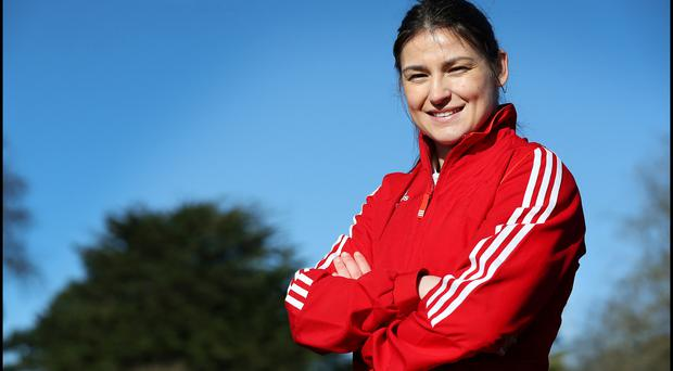 Olympic gold-medalist: Katie Taylor.