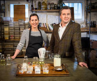 Hard-to-swallow facts: Philip Boucher-Hayes and chef Hilary O Hagan on What Are You Eating?