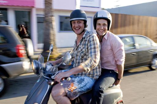 Bond: Jason Segal and Paul Rudd in I Love You, Man