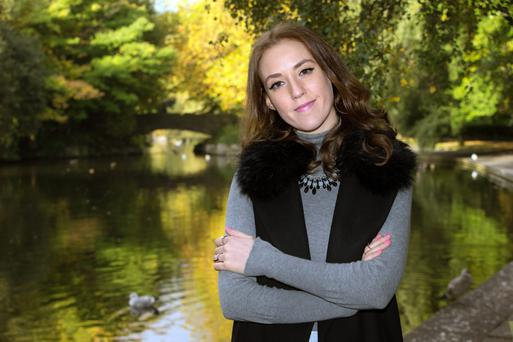 Attacked: Author and feminist Louise O'Neill says most of the abuse she receives online is 'ridiculous', but trolling can leave her 'exhausted'. Photo: Tony Gavin