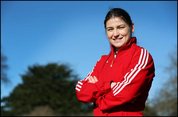 Ireland's Katie Taylor. Photo: Steve Humphreys