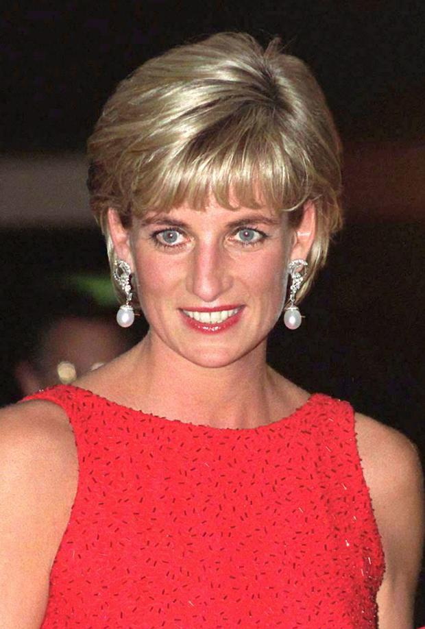 Blue blood: Rebel Princess Diana.