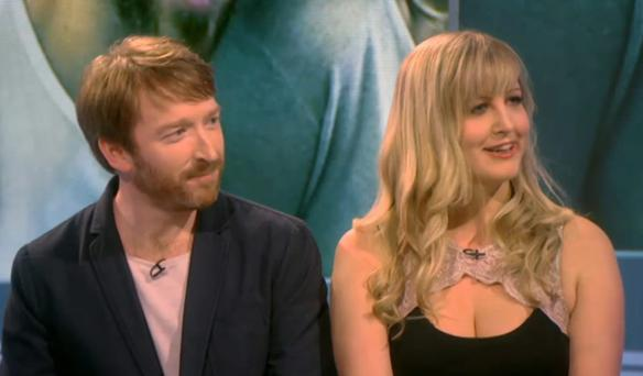 Oversharing: Irishman Ciaran and his Danish girlfriend Maria took part in 'Sex Box' on Channel 4.
