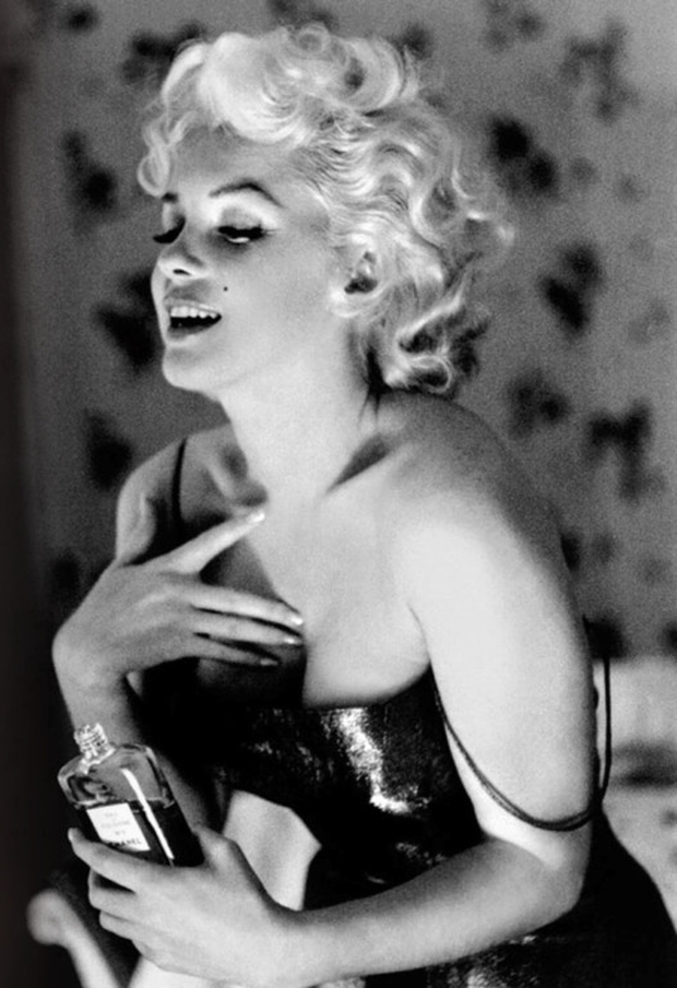 Scent of a woman: Marilyn Monroe didn't seem to mind her Chanel No5 perfume was filled with the faeces of the civet cat.