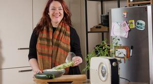 Cheaper by the dozen?: Aoife Carrigy gets to the root of how we can save money by chopping our own vegetables. Photo Fergal Phillips.