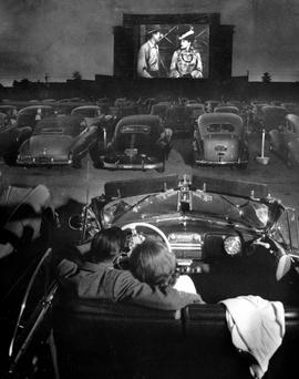 Just like the movies: Weather permitting, there'll be drive-in and outdoor cinema fun around the country this summer. Photo: JR Eyerman/The LIFE Picture Collection/Getty Image
