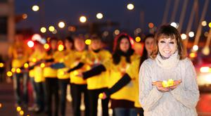 Support: Joan Freeman, founder of Pieta House, celebrates the charity's 10th year with 130,000 people expected at this weekend's Darkness Into Light event.