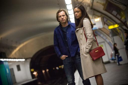 Ewan McGregor and Naomie Harris in Our Kind of Traitor