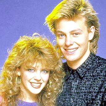 Kylie and Jason in Neighbours