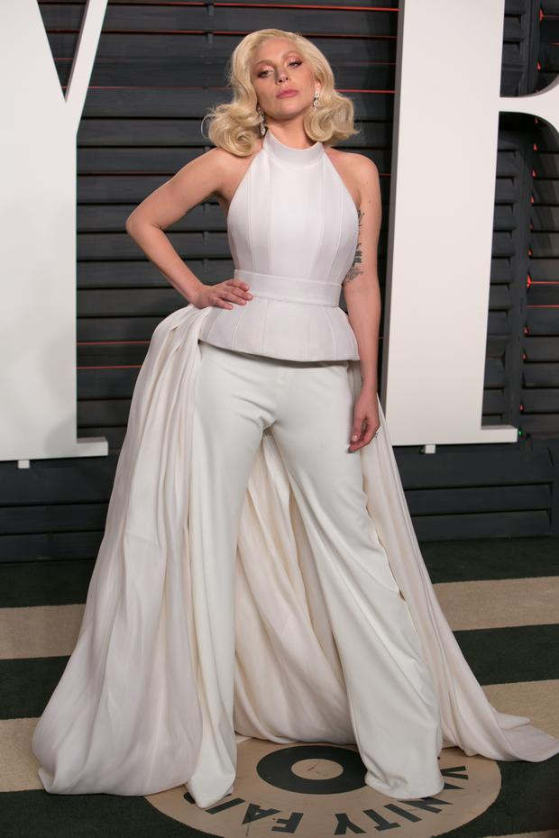 Lady Gaga at the Oscars.