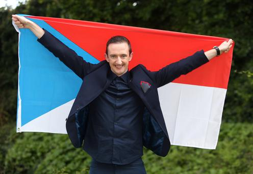 Dream come true: Limerick's Aidan O'Connor's song will be performed by the Czech Republic's Gabriela Guncikova in tonight's Eurovision semi-final Photo: Damien Eagers.