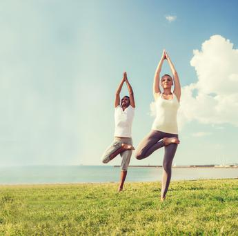 Get physical: A study found that those who did 30 minutes of exercise each day had a lower chance of developing cancer