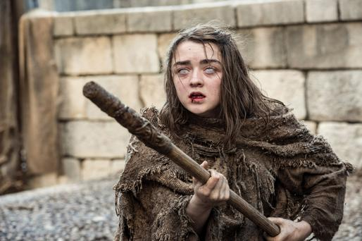 'Frightening'?: A blind Arya Stark fends off an attacker in 'Game of Thrones' season 6.