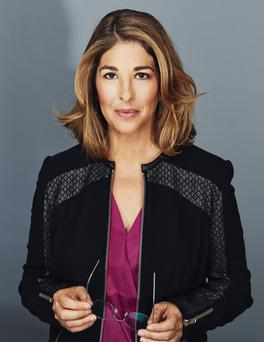 Critics: Naomi Klein, who's written a book on global warming, is regularly trolled on Twitter.