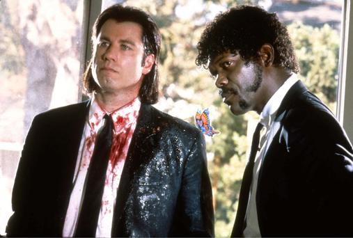 Pulp Fiction: John Travolta and Samuel L Jackson and the rest of the cast used the expletive 'f***' 265 times in Quentin Tarantino's 1994 film.
