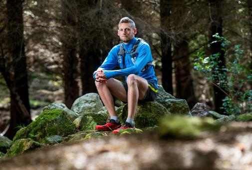 Run free: John Buckley swapped the city lights for the great outdoors three times a week. Photo: ©INPHO/Cathal Noonan