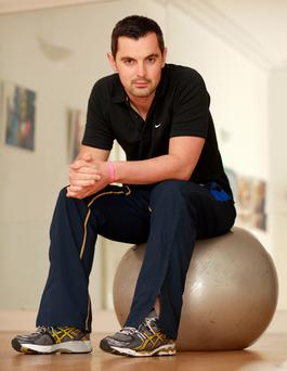 Mr Motivator: Trainer Karl Henry shares his tips for staying motivated during training.