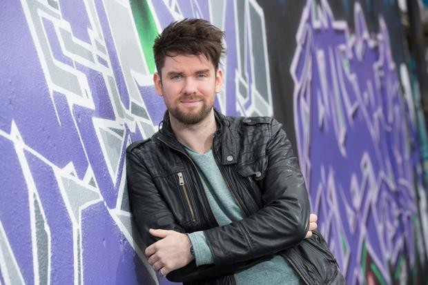 RTE's Eoghan McDermott is an ambassador for Pieta House. Photo: Naoise Culhane.