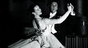 Dancing Doyenne: Peggy Spencer with her husband Frank