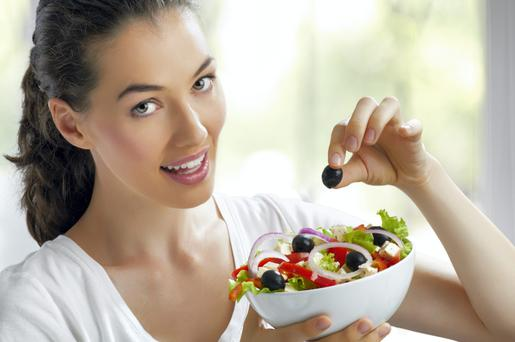 Eating a range of foods from across the food pyramid in smaller amounts should result in weight loss.